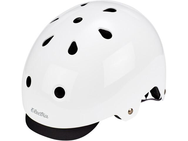 Electra Bike Helmet gloss white